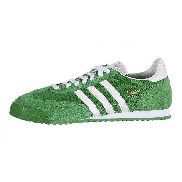 Shop for Discount Adidas Dragon Green / White G50920 On Sale   Up ...
