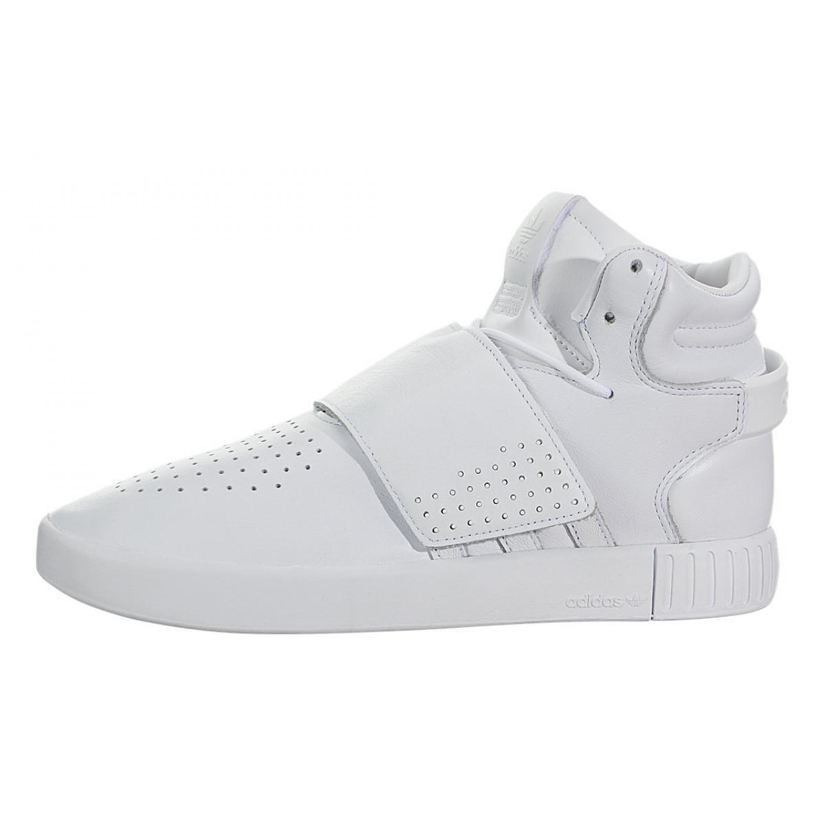 Gángster Rango microscópico  Shop for Adidas Tubular Invader Strap (Kids) Footwear White / Footwear  White BW0590 at lowest prices in Trainingkicks.com
